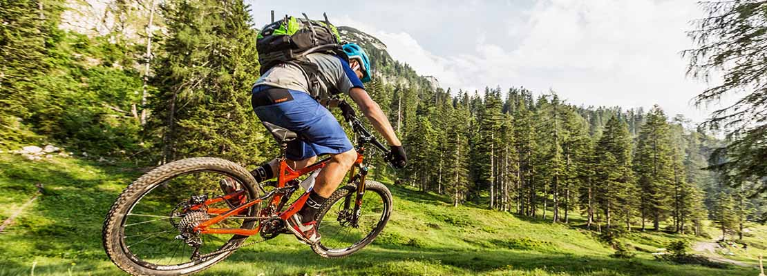 mountainbiking in the Alps